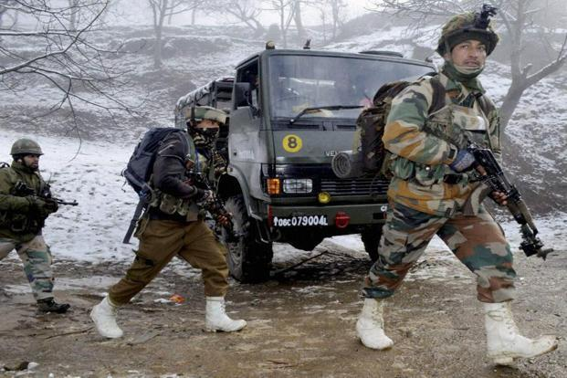 Security forces launched a cordon and search operation following specific intelligence inputs about the presence of militants in the area, the official said. Photo: PTI