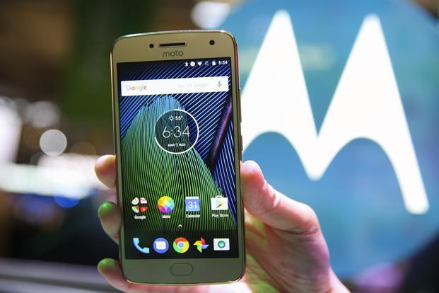 Moto G5 Plus features a 5.2-inch display, 2Ghz Qualcomm Snapdragon octa-core processor, up to 4GB RAM, removable storage of up to 128GB, 12MP rear and 5MP front cameras and 3,000 mAh battery.  Photo: Reuters