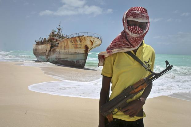 A file photo. In their prime in 2011, Somali pirates launched 237 attacks off Somalia's coast, data from the International Maritime Bureau showed, and held hundreds of hostages. Photo: AP