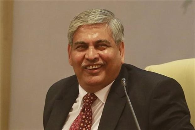 A file photo of Shashank Manohar. Photo: AP