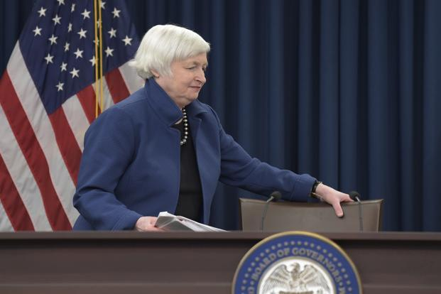 US Federal Reserve Chair Janet Yellen. Photo: AP