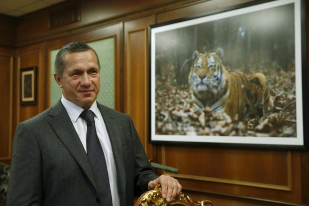 Russian deputy prime minister Yury Trutnev. Photo: Reuters
