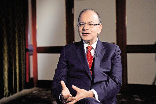 Finance minister Arun Jaitley. The approval of the two GST bills and cap on cess for demerit goods over and above the GST rate clears hurdles for GST implementation by 1 July. Photo: Bloomberg