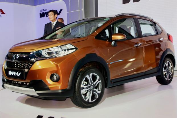 Yoichiro Ueno, chief executive and president of Honda Cars India during the launch of Honda WR-V in New Delhi on 16 March 2017. Photo: PTI