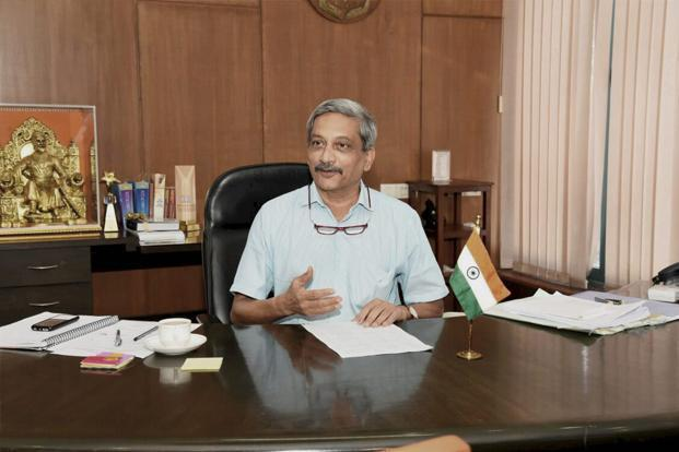 BJP CM Manohar Parrikar won the floor test in Goa assembly on Thursday, 22 votes to 16. Photo: PTI