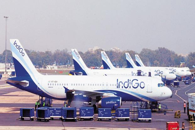IndiGo has a 40% share of the domestic market. It operates 883 daily flights connecting 42 destinations. Photo: Ramesh Pathania/Mint