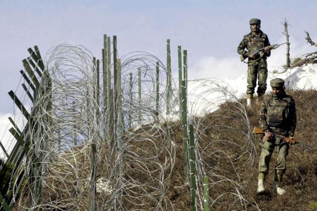 MoS for defence Subhash Bhamre said in the Lok Sabha that during 2016 and 2015 there were 228 and 152 ceasefire violations, respectively, by Pakistan. Photo: AFP
