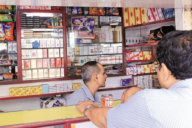 The cess levied, in the case of cigarettes and chewing tobacco, could be either 290% or Rs4,170 per thousand sticks or a combination of both. Photo: Mint