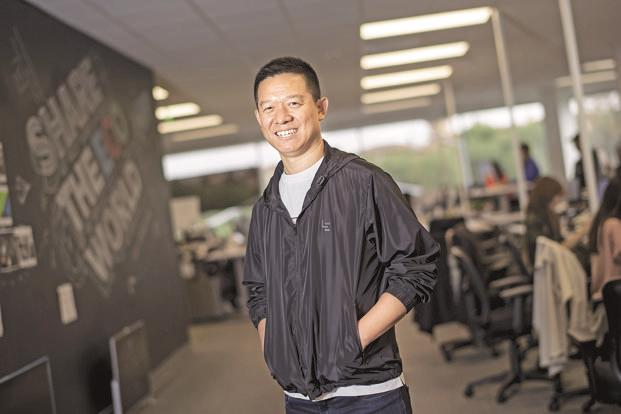 Jia Yueting, chief executive officer of LeEco Global Group. Photo: Bloomberg