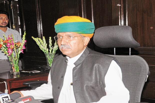 A file photo of minister of state for finance Arjun Ram Meghwal.