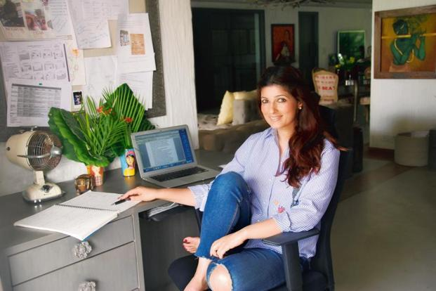 Twinkle khanna amish tripathi the storytellers livemint for Interior designs by twinkle khanna