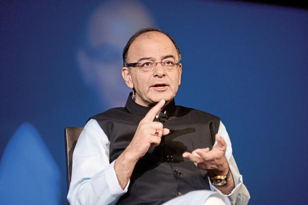 Finance minister Arun Jaitley. Photo: Abhijit Bhatlekar/Mint