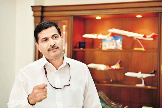 Ashwani Lohani, chairman and managing director of Air India. Photo: Pradeep Gaur/Mint