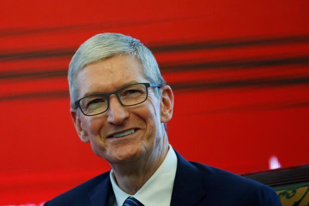 Tim Cook's comments come amid rising tensions between the US and China, with protectionist rhetoric from US President Donald Trump sparking concern of increased trade friction between the two countries. Photo: Reuters