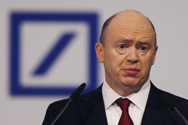 Deutsche Bank CEO John Cryan. The share sale, which will run from 21 March through 4 April, will be the fourth capital infusion by the banker since 2010.  Photo: AP