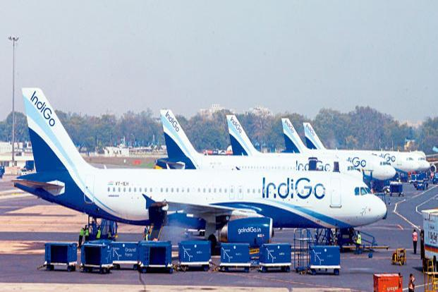 An upside in IndiGo shares shall depend on how yields and traffic growth play out in the coming months and, of course, on the movement in crude oil prices. Photo: Ramesh Pathania/Mint