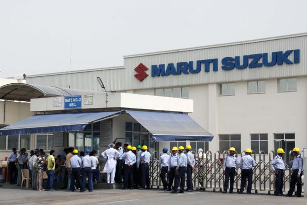 Extent of production loss due to tool-down could not be ascertained immediately. Maruti alone makes auto 6,000 cars every day at its plants in Haryana. Photo: Manoj Kumar/HT