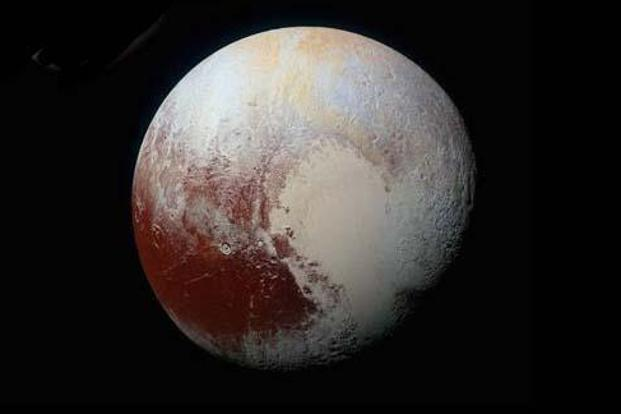 Pluto had been the smallest of the nine planets, its diameter under three-quarters of the moon and nearly a fifth of the Earth. Photo: Nasa