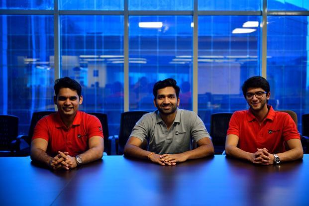 In 2014 when Abhiraj Bhal (left) and Varun Khaitan (centre) wanted a tech co-founder, in another part of the world Raghav Chandra was looking for a business co-founder. A mutual friend brought them together.