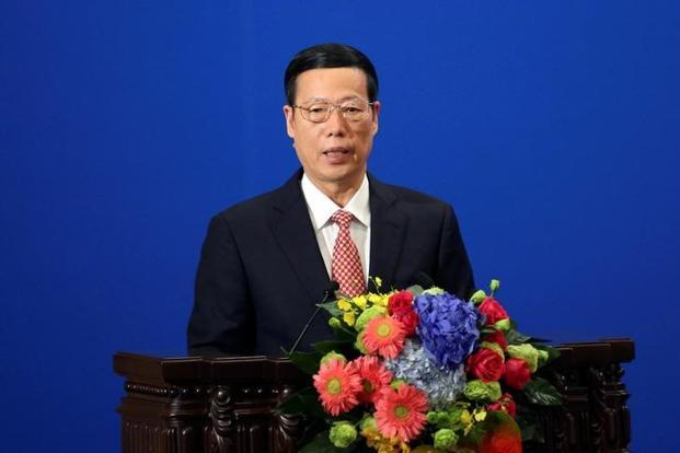 The world economy is in a deep adjustment, growth is weak and trade protectionism is rising, Chinese vice premier Zhang Gaoli said. File photo: Reuters