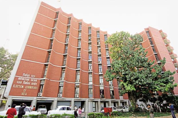 A file photo of Election Commission building in New Delhi. The Centre is yet to file its response in the case. Photo: Mint