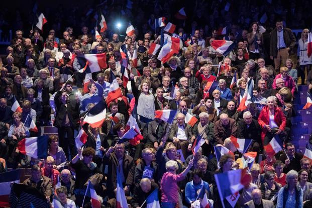 The French presidential elections are scheduled to begin on 23 April. Photo: Bloomberg