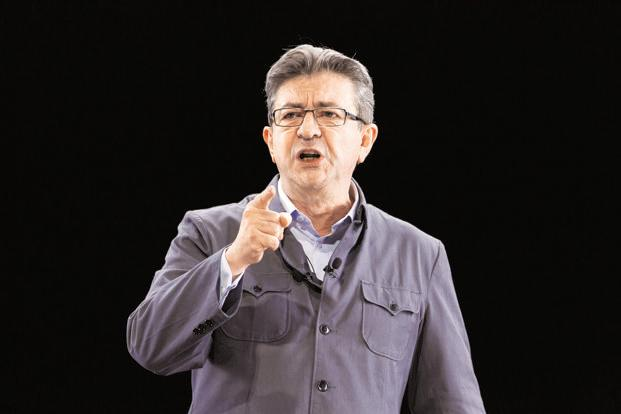 Politician Jean-Luc Melenchon, of the French far-left Parti de Gauche, and candidate for the 2017 French presidential election. Photo: Reuters