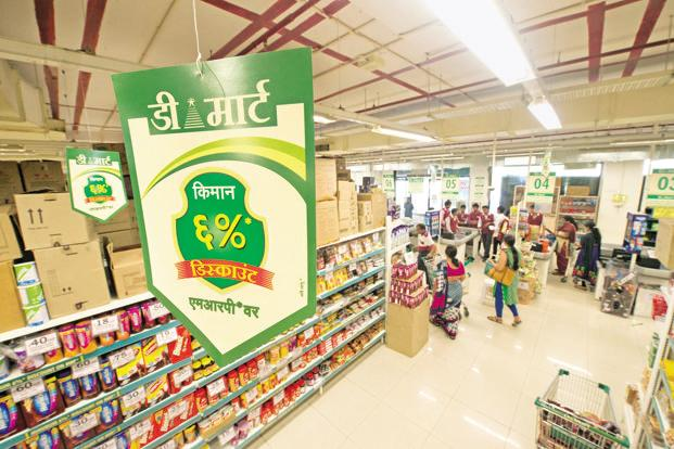 At Tuesday's closing price of Rs634, shares of D-Mart parent Avenue Supermart traded at 76 times estimated earnings for financial year 2016-17, resulting in sky-high valuation of the stock. Photo: Aniruddha Chowdhury/Mint
