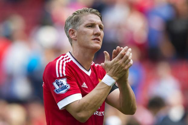 Bastian Schweinsteiger played at Bayern Munich for 11 years before joining Manchester United at the end of last season. Photo: AP