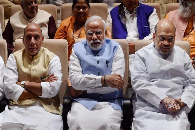Narendra Modi told them at a BJP parliamentary party meeting that attending Parliament is their basic responsibility. Photo: AP