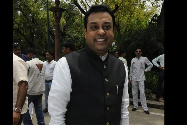 BJP spokesperson Sambit Patra says aggrieved parties should keep in mind that the Ram Mandir issue is sensitive, sentimental and is related to faith of millions of people. Photo: Hindustan Times