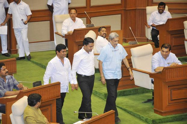 The the governor on its side, the BJP needed Manohar Parrikar not to form the coalition government in Goa but to steer the boat through the choppy waters that lie ahead. Photo: PTI