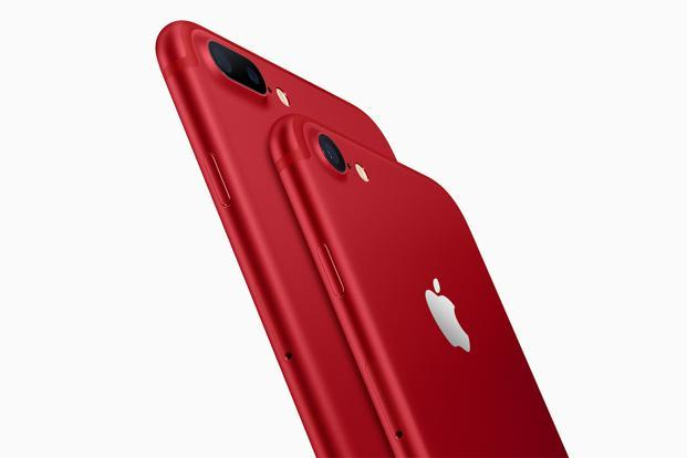 In Apple's iphone (PRODUCT)RED, there are no specification changes, there are no design changes and there is no new software.