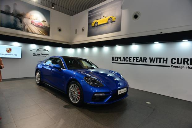 The Panamera Turbo model is more powerful than its predecessor, whilst also significantly improving fuel economy and reducing emissions. Photo: Aniruddha Chowdhury/Mint