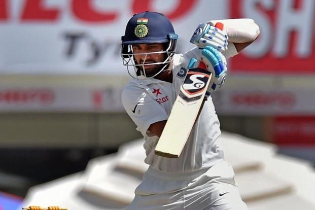 Cheteshwar Pujara's century was well constructed. Photo: PTI