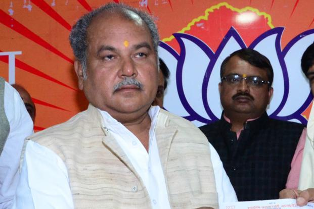 Rural development minister Narendra Singh Tomar on the occasion of World Water Day Wednesday reiterated the govt't commitment to providing tap water supply on a sustained basis to every household by 2030. Photo: HT