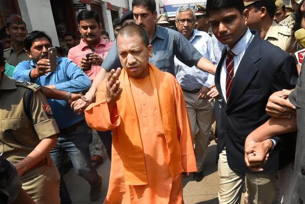 Uttar Pradesh chief minister Yogi Adityanath. Photo: PTI