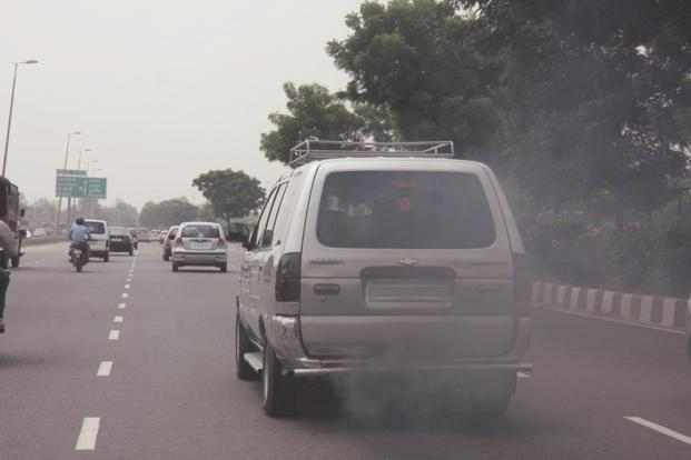 India is planning to move to Bharat Stage IV norms on fuel and fuel emissions from 1 April. Photo: HT