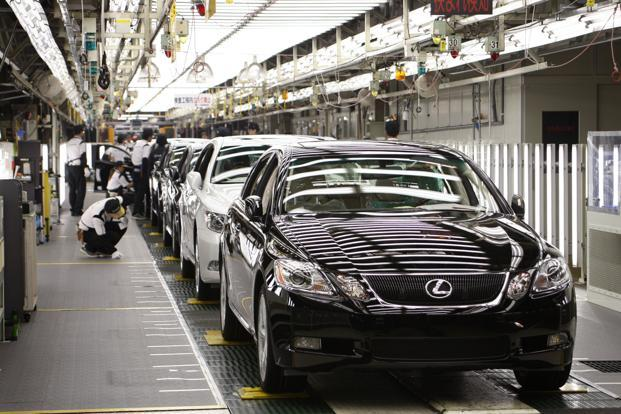 Toyota launched Lexus cars in India on Friday with prices starting at Rs55.27 lakh (ex-showroom, Delhi). Photo: Bloomberg