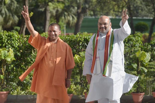 The BJP has won every election it has fought under Amit Shah's stewardship, except on three occasions.  Photo: PTI
