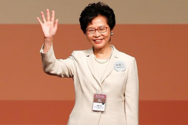 China favourite Carrie Lam elected as Hong Kong's new leader