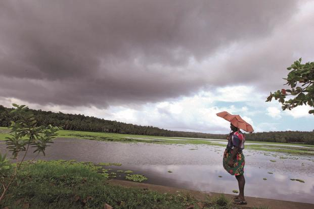 This year is the fourth consecutive year, when monsoon rains are not likely to surpass the normal rains. Photo: Vivek Nair/HT