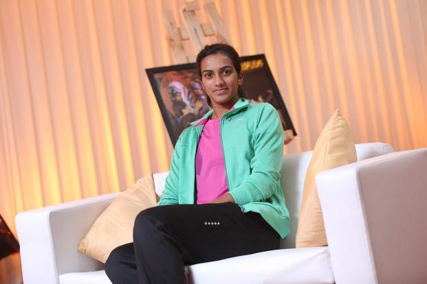 P.V. Sindhu, 21, was recently signed by Gatorade, a sports drink sold by American food and beverage maker PepsiCo Inc. Photo: Hindustan Times