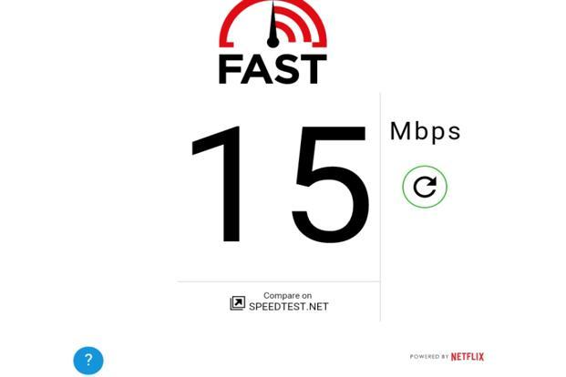 Fast Speed Test is a no-frills speed-testing app with a clean and clutter-free interface.