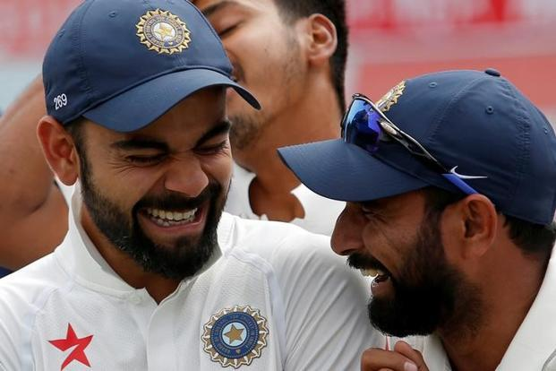 Virat Kohli (left) believes he finally has the fast bowlers to rectify India's reputation in away Tests. The team tours South Africa later this year. Photo: Reuters