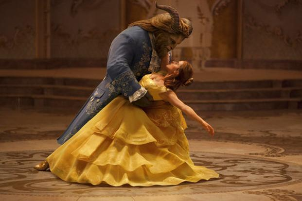 Dan Stevens as 'The Beast' and Emma Watson as 'Belle' in a still from 'Beauty and the Beast'.