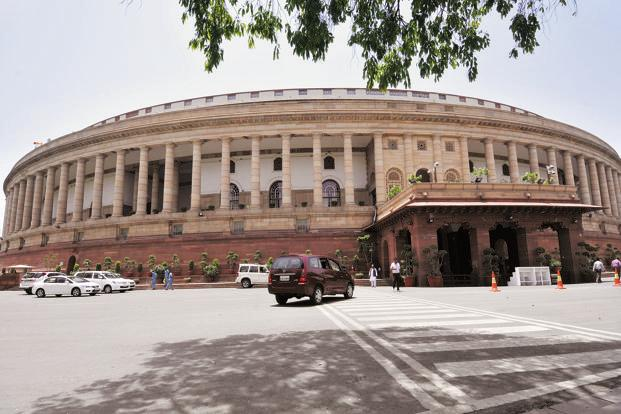 A file photo of the Parliament. Photo: Hindustan Times