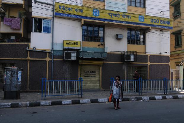 A Uco Bank branch in Kolkata. Photo: Indranil Bhoumik/Mint
