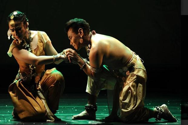 Amorous Delight' is an Odissi dance-drama.