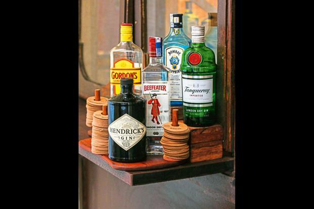 Popular gin brands. Photo: Kunal Chandra
